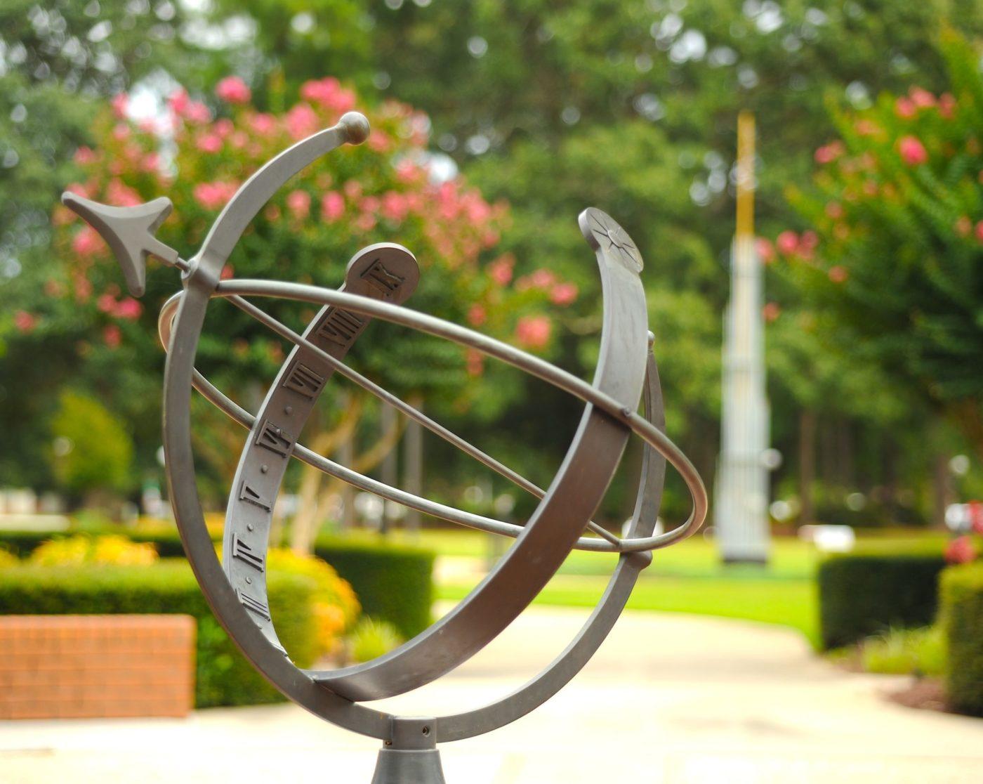 Student Terrace Sundial