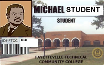 Student ID Card Front