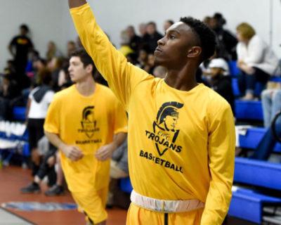 Fayetteville Tech basketball player
