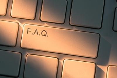 White keyboard closeup
