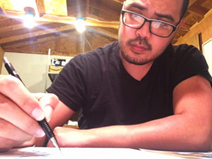 Jerry Writing