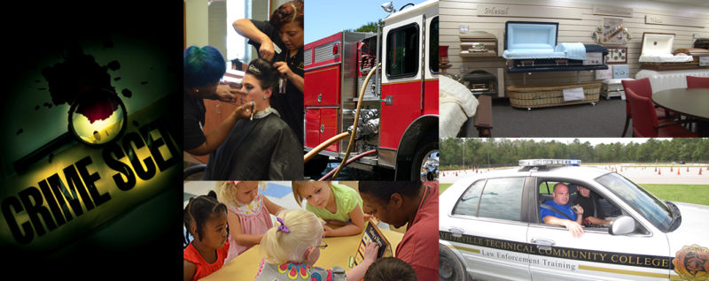 Public service collage