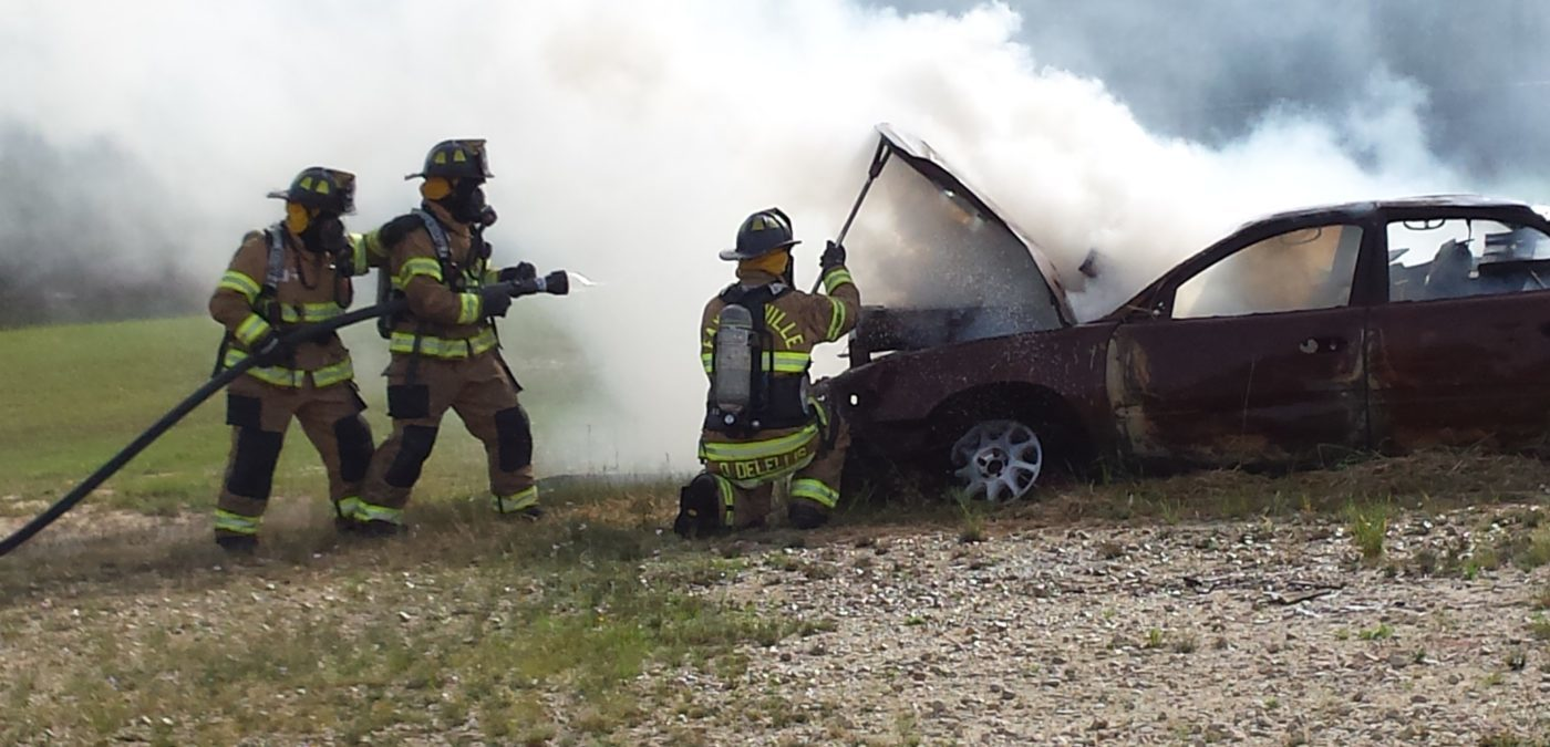 Vehicle Fire During Fire Control Class 1400x675