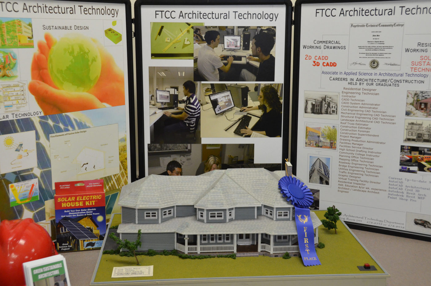Architectural Technology Display