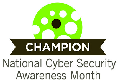 National Syber Security Awarness Month Logo