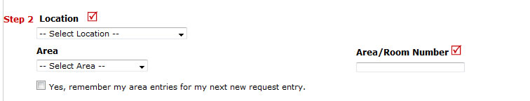 Work order location request