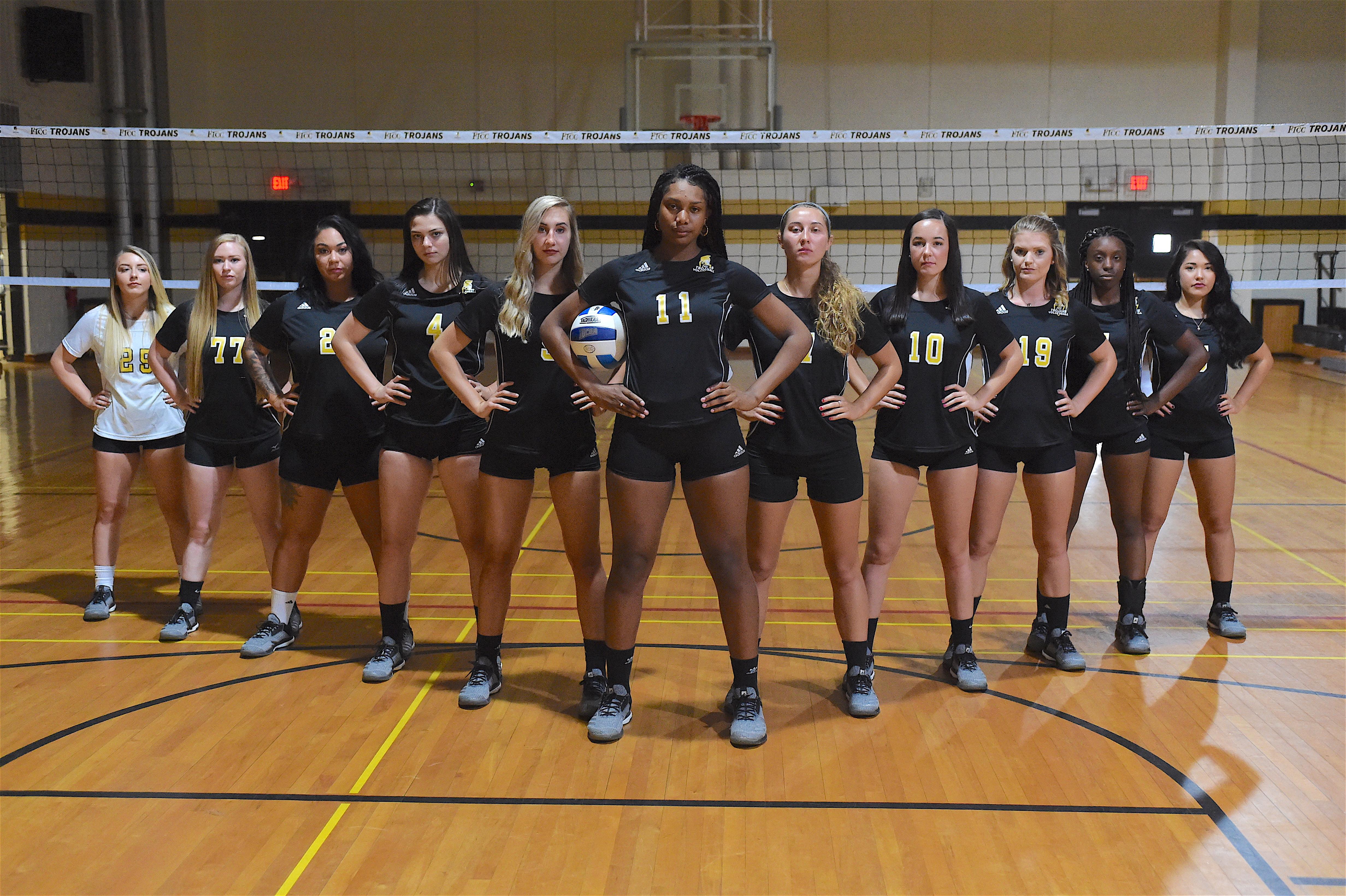 Volleyball team photo