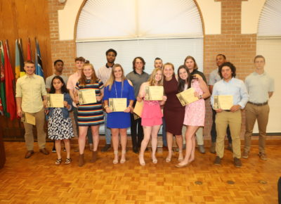 Trojan awards April 2019