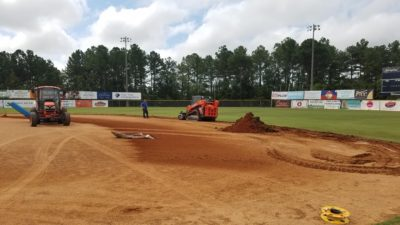 Trojan Field renovation