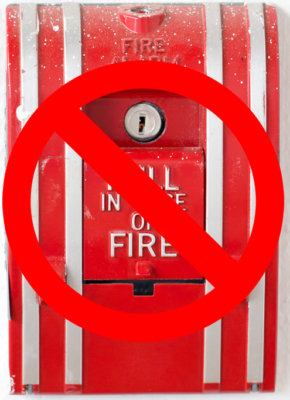 Do Not Pull Fire Alarm