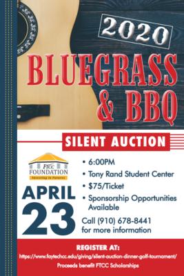 Bluegrass Bbq Silent Auction Flyer
