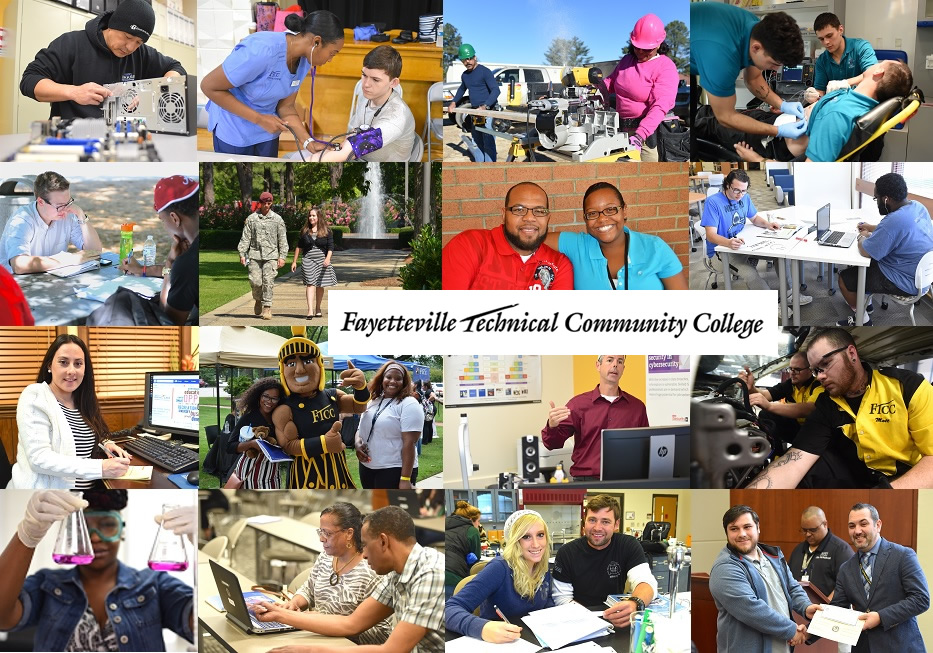 Ftcc Students On Campus