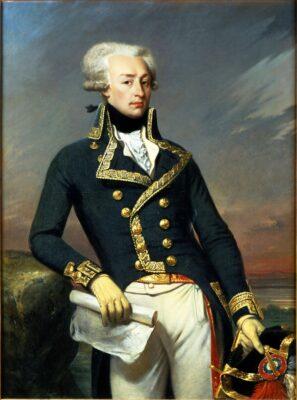 Lafayette Portrait Joseph Desire Court