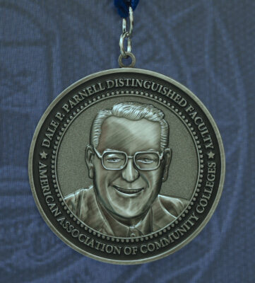 Dale P Parnell Distinguished Faculty Medal