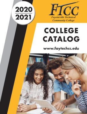 College Catalog Cover 2019 2020