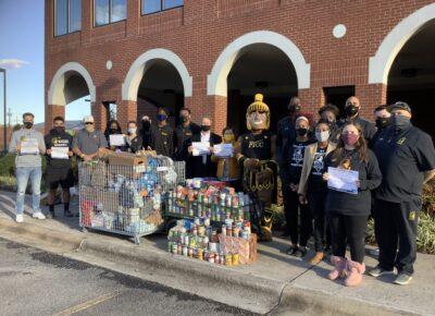 FTCC Athletics Food Pantry donation