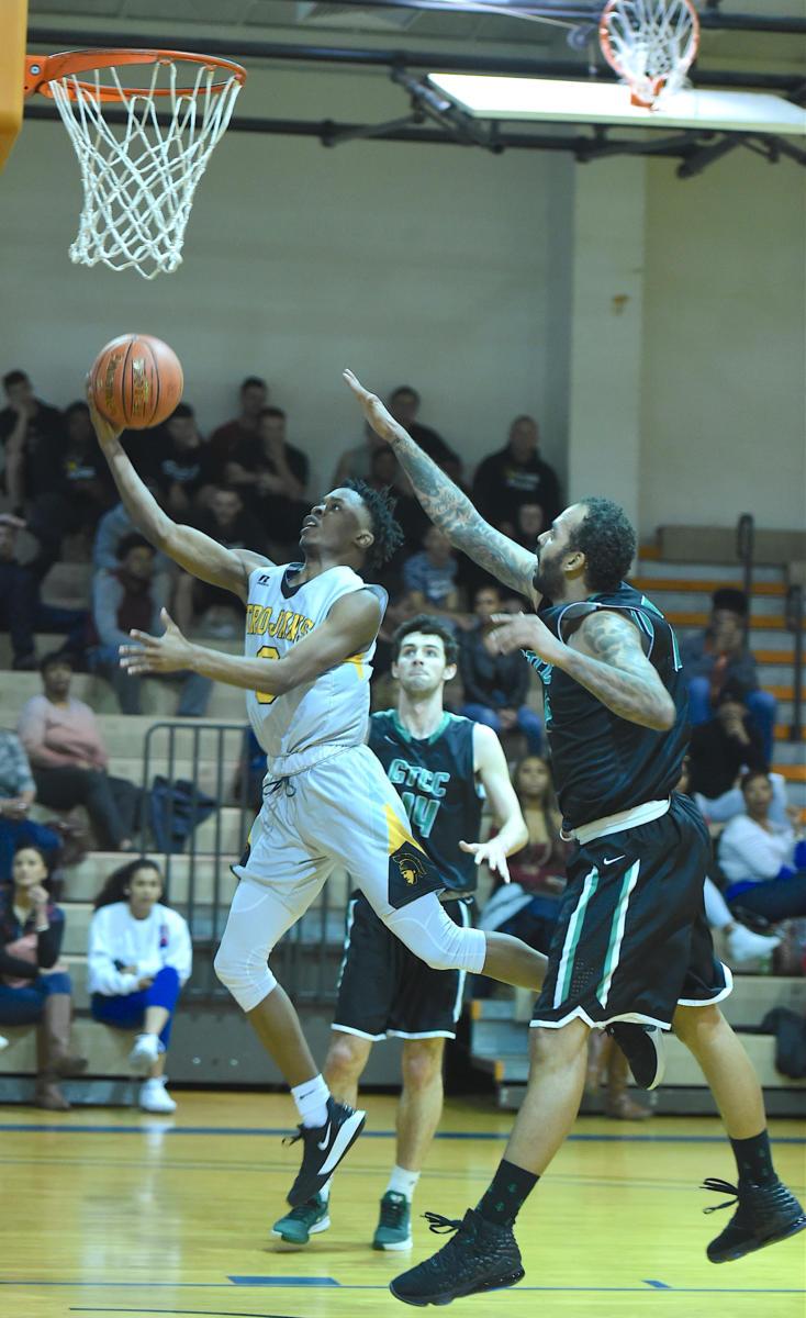 Men's basketball vs Guilford Tech - Feb. 19, 2020