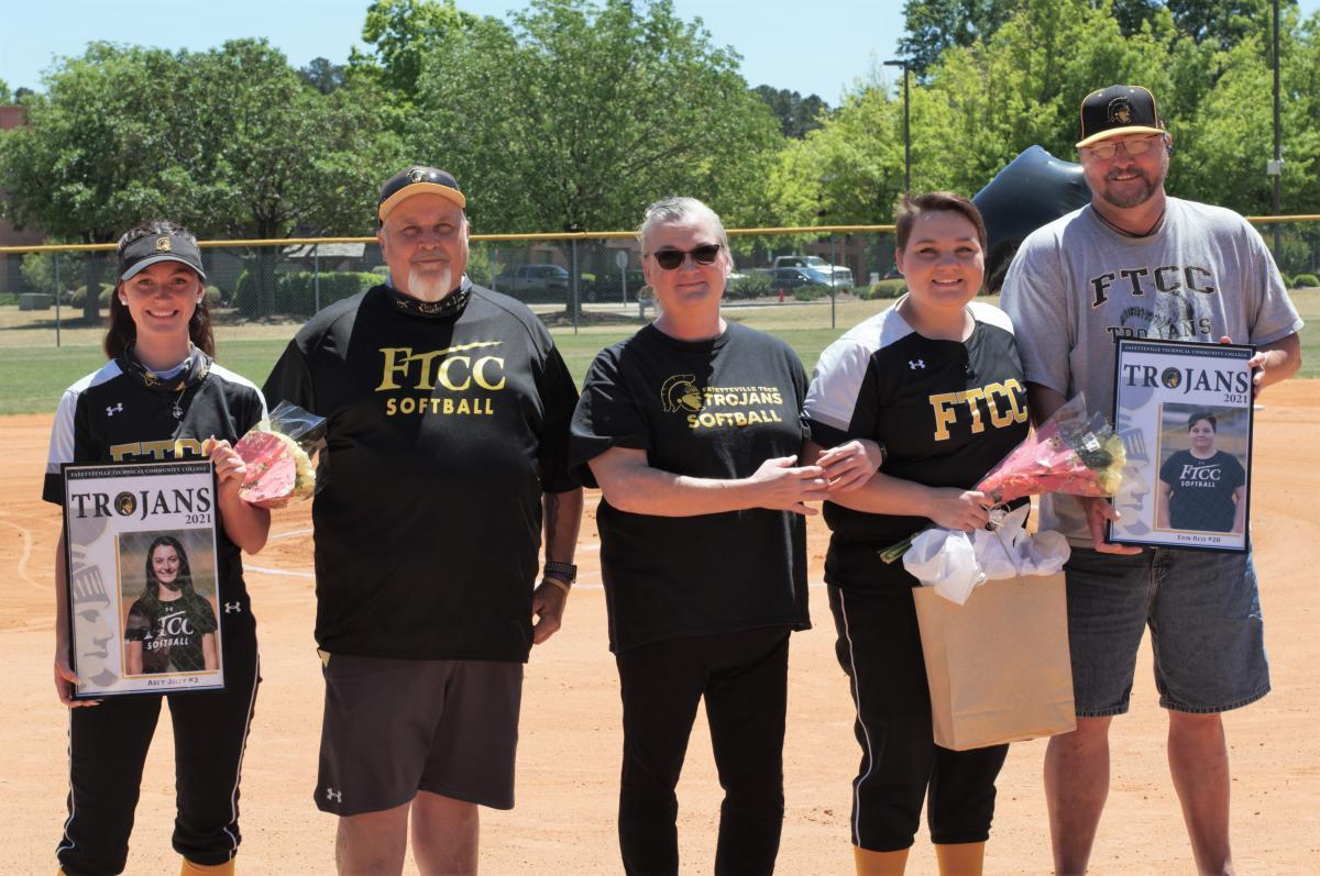 FTCC Softball Sophomore Day - May 1, 2021