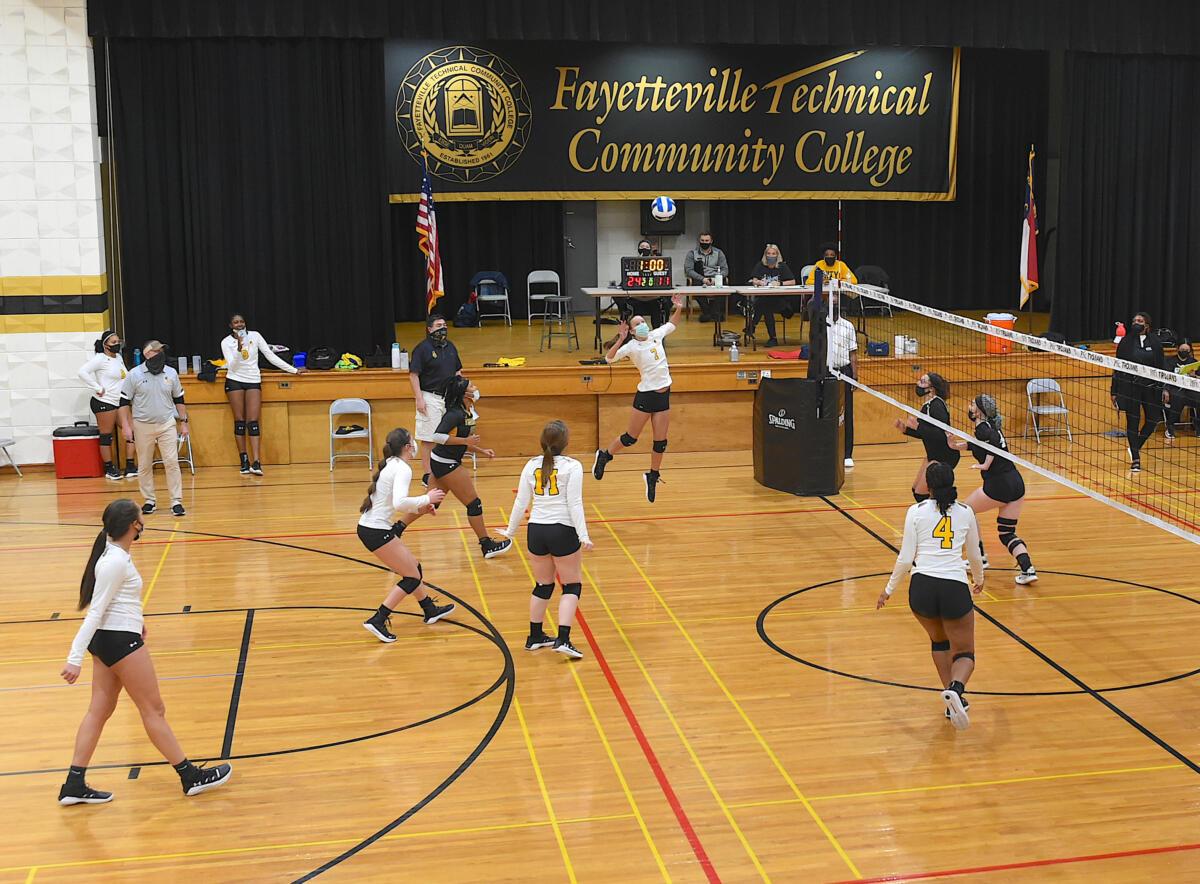 Volleyball vs Guilford Tech - Feb. 16, 2021
