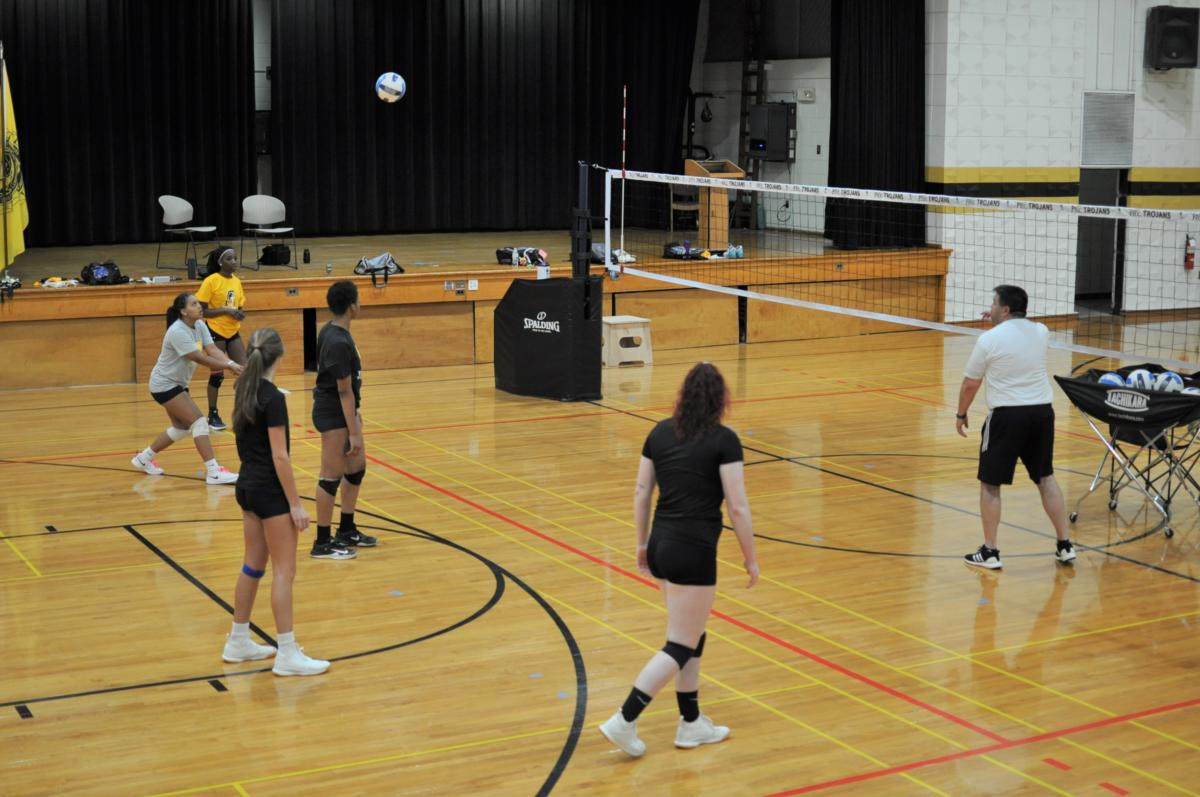 Volleyball resumes summer workouts