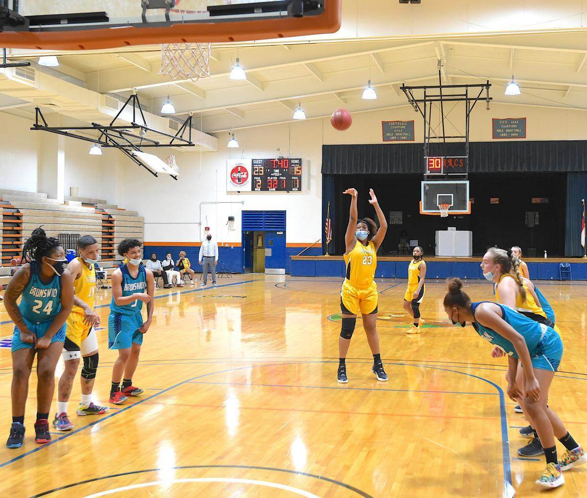 FTCC Women's Basketball vs Brunswick CC - March 10, 2021