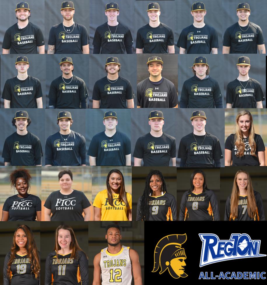 2021 Region 10 All-Academic team